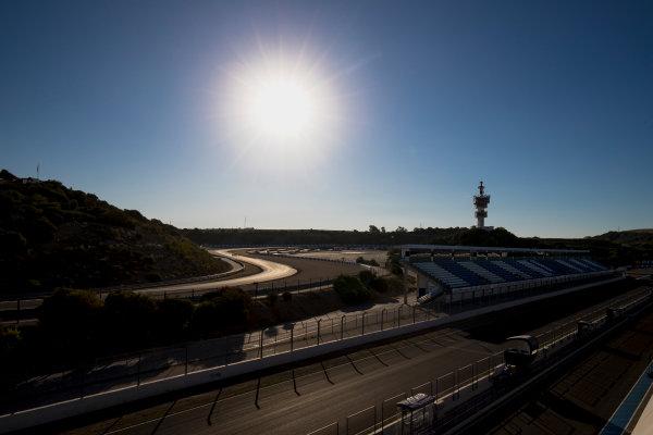 2017 GP3 Series Round 7.  Circuito de Jerez, Jerez, Spain. Thursday 5 October 2017. A view of the track. Photo: Zak Mauger/GP3 Series Media Service. ref: Digital Image _56I3764