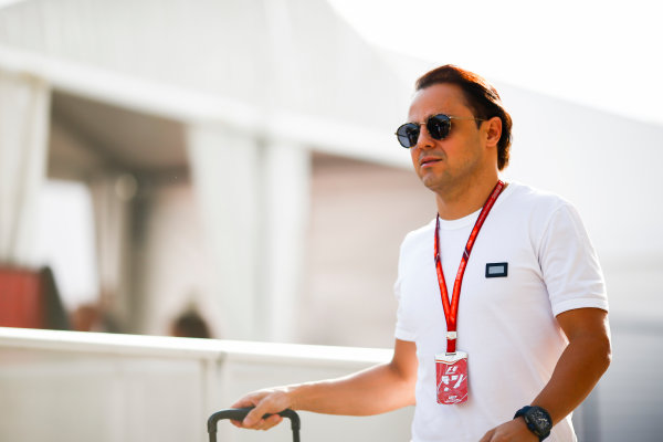Circuit of the Americas, Austin, Texas, United States of America. Thursday 19 October 2017. Felipe Massa, Williams Martini Racing. World Copyright: Andy Hone/LAT Images  ref: Digital Image _ONY9000