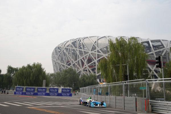 FIA Formula E - First Practice Session Beijing E-Prix, China Saturday 13 September 2014. Jarno Trulli (ITA)/Trulli Racing - Spark-Renault SRT_01E  Photo: Glenn Dunbar/LAT/ Formula E ref: Digital Image _89P1505