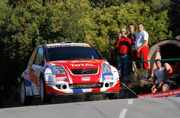 Round 12, Rally of France, Tour de Corse7th - 10th October 2008Sebastien Ogier, Citroen, actionWorldwide Copyright: McKlein/LAT