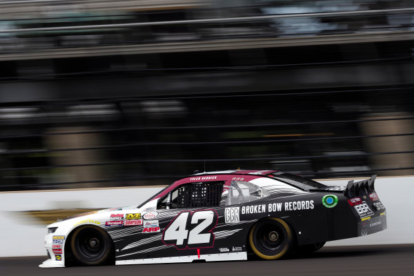 NASCAR XFINITY Series Lilly Diabetes 250 Indianapolis Motor Speedway, Indianapolis, IN USA Friday 21 July 2017 Tyler Reddick, BBR / Jason Aldean Chevrolet Camaro World Copyright: Michael L. Levitt LAT Images