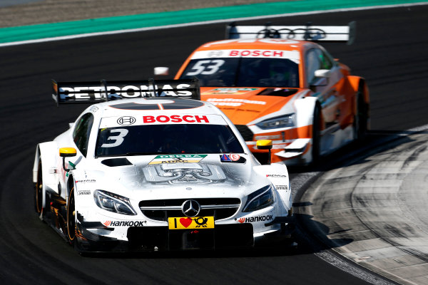 2017 DTM Round 3 Hungaroring, Budapest, Hungary. Sunday 18 June 2017. Paul Di Resta, Mercedes-AMG Team HWA, Mercedes-AMG C63 DTM World Copyright: Alexander Trienitz/LAT Images ref: Digital Image 2017-DTM-R3-HUN-AT2-1966
