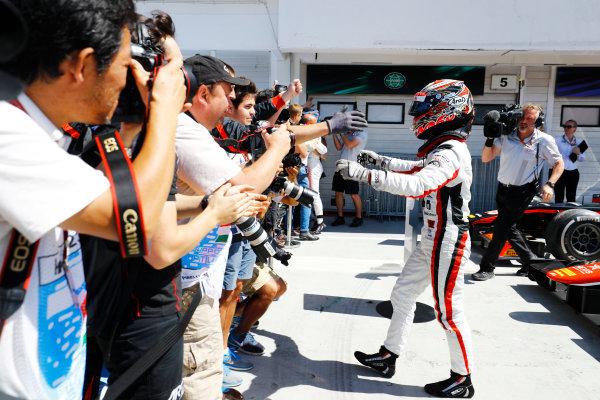 Hungaroring, Budapest, Hungary. Sunday 30 July 2017 Nobuharu Matsushita (JPN, ART Grand Prix).  Photo: Dunbar/FIA Formula 2 ref: Digital Image _R3I3734