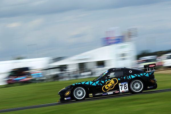 2017 Ginetta GT4 Supercup,  Snetterton. 29th-30th July 2017, Colin White CWS 4x4 Spares Ginetta G55 World copyright. JEP/LAT Photographic