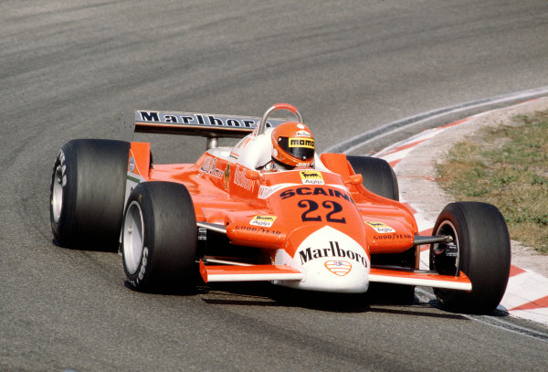 1980 Dutch Grand Prix.Zanvoort, Holland. 29-31 August 1980.Vittorio Brambilla (Alfa Romeo 179).Ref-80 HOL 22.World Copyright - LAT Photographic