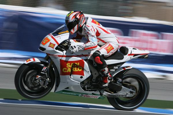 USA Laguna Seca 23-25 July 2010Marco Melandri San Carlo Honda Gresini