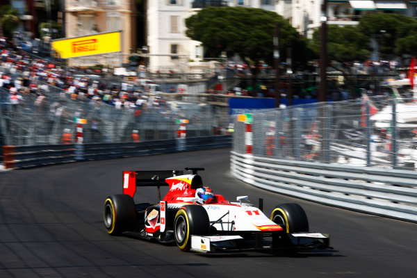 2017 FIA Formula 2 Round 3. Monte Carlo, Monaco. Saturday 27 May 2017. Ralph Boschung (SUI, Campos Racing)  Photo: Zak Mauger/FIA Formula 2. ref: Digital Image _X4I9589