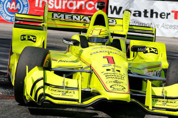 2017 Verizon IndyCar Series Toyota Grand Prix of Long Beach Streets of Long Beach, CA USA Friday 7 April 2017 Simon Pagenaud World Copyright: Perry Nelson/LAT Images ref: Digital Image nelson_lb_0409_0767