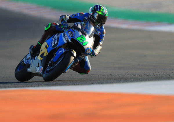 2017 MotoGP Championship - Valencia test, Spain. Tuesday 14 November 2017 Franco Morbidelli, Estrella Galicia 0,0 Marc VDS World Copyright: Gold and Goose / LAT Images ref: Digital Image MotoGP2017-ValenciaTest-Day1-1338