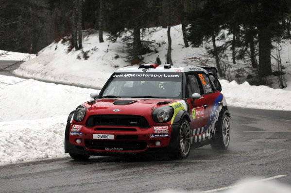 Pierre Campana (FRA), Mini John Cooper Works WRC, after stage 11.