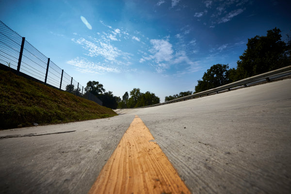 Autodromo Nazionale di Monza, Italy  Thursday 1 September 2016. The old banking at Monza. World Copyright: Steve Etherington/LAT Photographic ref: Digital Image SNE15023