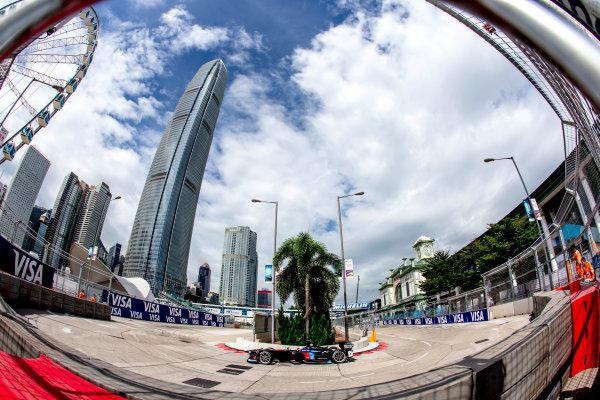 2016/2017 FIA Formula E Championship. Hong Kong ePrix, Hong Kong, China. Sunday 9 October 2016. Maro Engel (GER), Venturi, Spark-Venturi, Venturi VM200-FE-02.  Photo: Zak Mauger/LAT/Formula E ref: Digital Image _L0U1279