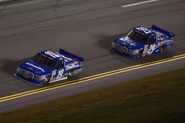 19-20 February, 2015, Daytona Beach, Florida USA Tyler Reddick, Austin Theriault ?2015, John Harrelson / LAT Photo USA