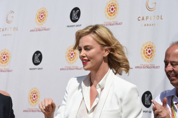 Charlize Theron (USA) Actress at Formula One World Championship, Rd1, Australian Grand Prix, Race, Albert Park, Melbourne, Australia, Sunday 15 March 2015.