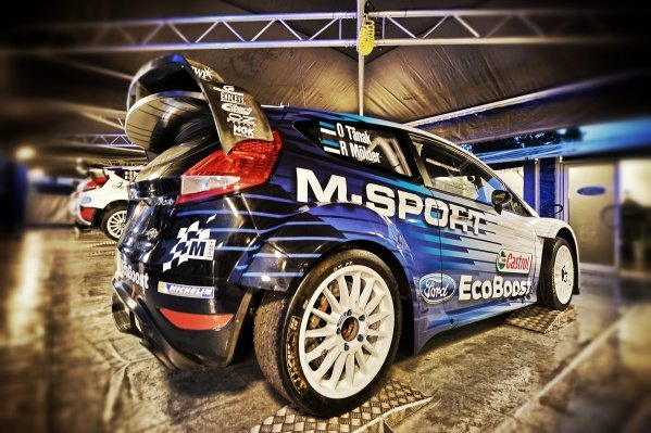 www.sutton-images.com -  Volkswagen Polo R WRC in Service at the FIA World Rally Championship, Rd1, Rally Monte Carlo, Preparatons and Shakedown, Monte Carlo, 22 January 2015. Photo Sutton Images
