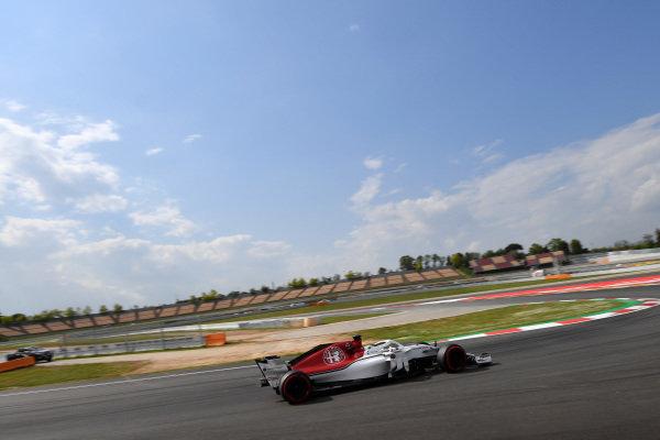 Charles Leclerc (MON) Alfa Romeo Sauber C37