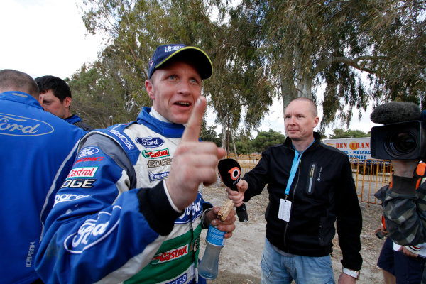 Round 06 - Rally Acropolis, Greece. 24-27 May 2012. Petter Solberg, Ford WRC, Portrait.  Worldwide Copyright: McKlein/LAT
