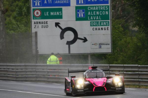 2015 Le Mans 24 Hours Test Day, Le Mans, France. 31st May 2015. Christopher Cumming / Laurens Vanthoor OAK Racing Ligier JS P2 HPD. World Copyright: Ebrey / LAT Photographic.