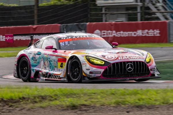 Nobuteru Taniguchi & Tatsuya Kataoka, Goodsmile Racing with Team UKYO x Racing Miku, Mercedes AMG GT3 Evo, 3rd in GT300