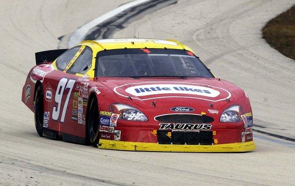 2002 NASCAR Miami, USA November 14-17,2002,Homestead-Miami Motorsports Complex-Kurt Busch at speed,-Robt LeSieur2002LAT Photographic