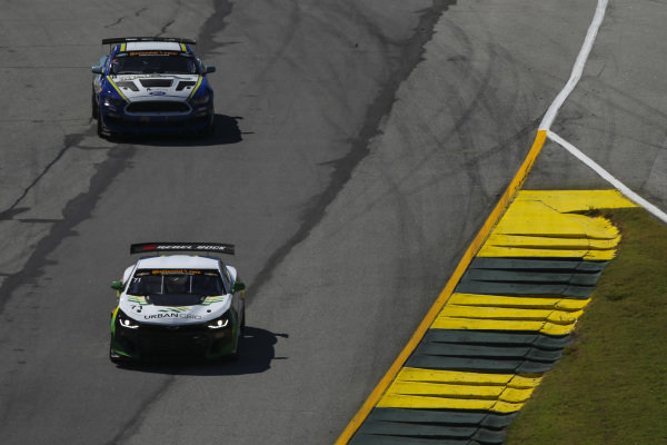 #71 Rebel Rock Racing, Chevrolet Camaro GT4.R, GS: Robin Liddell, Andrew Davis