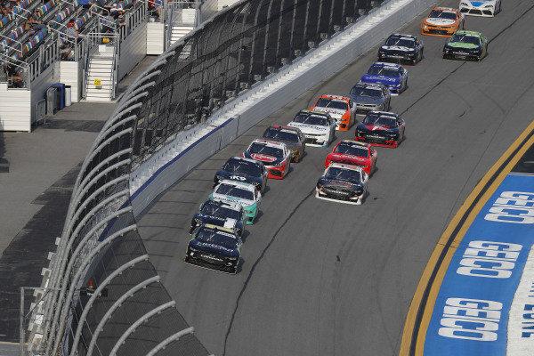 #10: Ross Chastain, Kaulig Racing, Chevrolet Camaro Nutrien Ag Solutions, #19: Brandon Jones, Joe Gibbs Racing, Toyota Supra Juniper