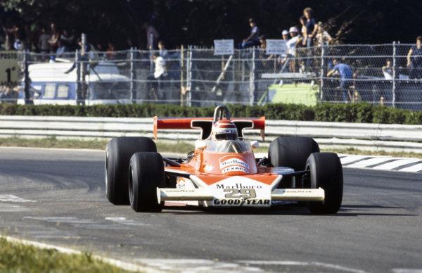 Nelson Piquet, McLaren M23 Ford.