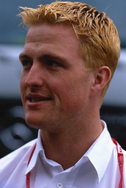 2002 Austrian Grand Prix.A1-Ring, Zeltweg, Austria.10-12 May 2002.Ralf Schumacher (Williams BMW).Ref-02 AUT 38.World Copyright - LAT Photographic