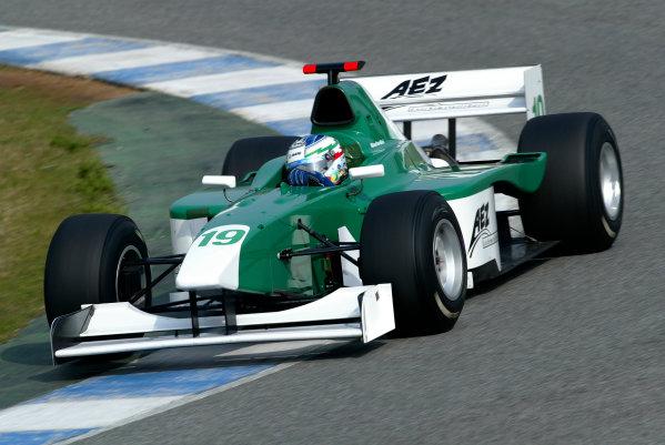 2004 F3000 Testing.
