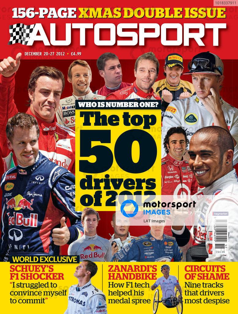 Autosport Covers 2012