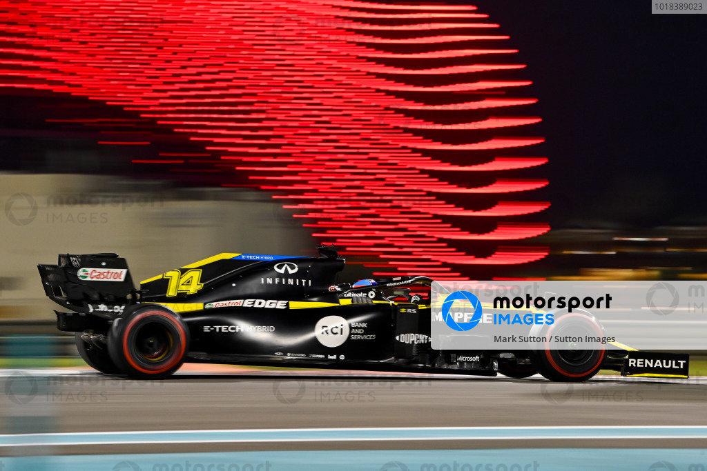 Abu Dhabi Post Season Test