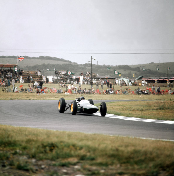 East London, South Africa.27-29 December 1962.Jim Clark (Lotus 25 Climax).Ref-3/0768.World Copyright - LAT Photographic