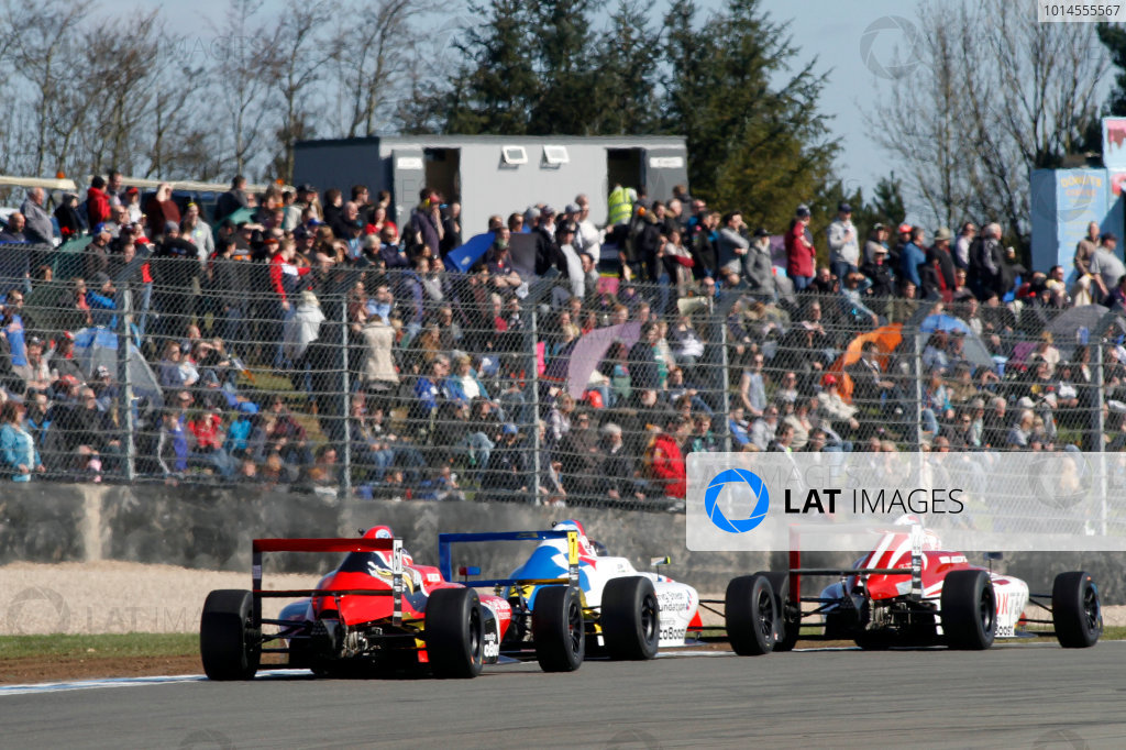 2016 MSA Formula Donington Park, 16th-17th April 2016, Frank Bird (GBR) Fortec Motorsports MSA Formula  World copyright. Jakob Ebrey/LAT Photographic