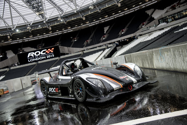 2015 Race Of Champions Olympic Stadium, London, UK The Racdical SR3 RSX. Copyright Free FOR EDITORIAL USE ONLY. Mandatory Credit: 'IMP'