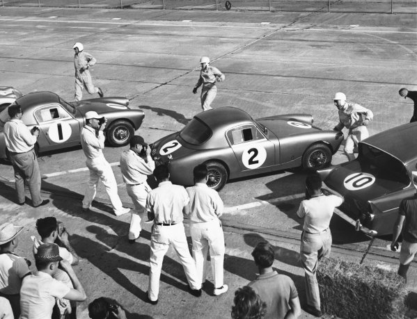 Sebring, Florida, USA. 25th March 1961. 