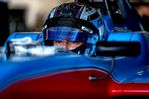 2016 GP3 Series Test 5. Yas Marina Circuit, Abu Dhabi, United Arab Emirates. Wednesday 30 November 2016. Marcos Siebert (SUI, Jenzer Motorsport)  Photo: Zak Mauger/GP3 Series Media Service. ref: Digital Image _X0W1839