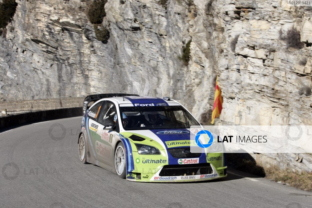 2006 FIA World Rally Champs. Round One, Monte Carlo Rally.19th - 22nd January 2006.Marcus Gronholm, Ford, action.World Copyright: McKlein/LAT