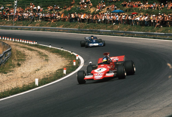 Osterreichring, Zeltweg, Austria. 11-13th August 1972.  Ronnie Peterson (March 721G-Ford), 12th position.  Ref: 72AUT95. World Copyright: LAT Photographic