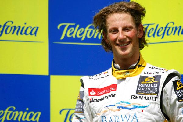 Barcelona, Spain.Sunday Race. 10th May 2009.Romain Grosjean (FRA, Barwa International Campos Team). Portrait.  World Copyright: Charles Coates / GP2 Series Media Service.Ref: _26Y7203 jpg