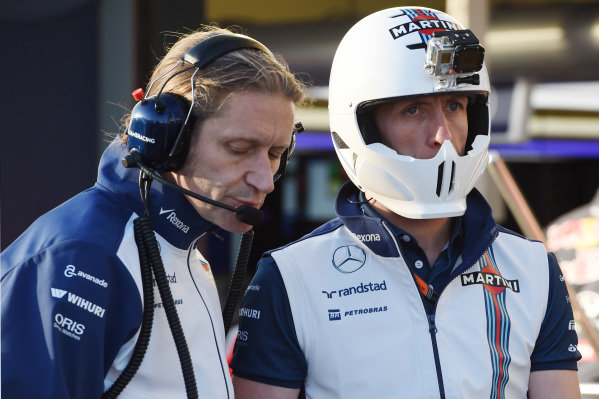 Carl Gaden (GBR) Williams Mechanic at Formula One World Championship, Rd1, Australian Grand Prix, Preparations, Albert Park, Melbourne, Australia, Thursday 12 March 2015.