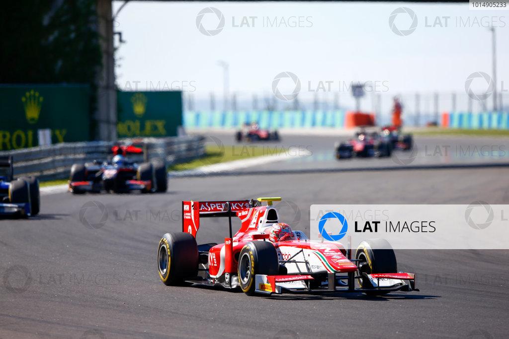 Hungaroring, Budapest, Hungary. Saturday 29 July 2017 Charles Leclerc (MCO, PREMA Racing).  Photo: Hone/FIA Formula 2 ref: Digital Image _ONZ9743