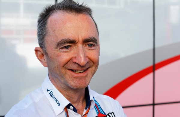 Circuit de Catalunya, Barcelona, Spain. Saturday 13 May 2017. Paddy Lowe, Chief Technical Officer, Williams Martini Racing Formula 1. World Copyright: Steven Tee/LAT Images ref: Digital Image _R3I2308
