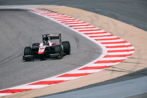 Bahrain International Circuit, Sakhir, Bahrain. Thursday 30 March 2017 Nabil Jeffri (MAS) Trident Photo: Malcolm Griffiths/FIA Formpula 2 ref: Digital Image MALC6822