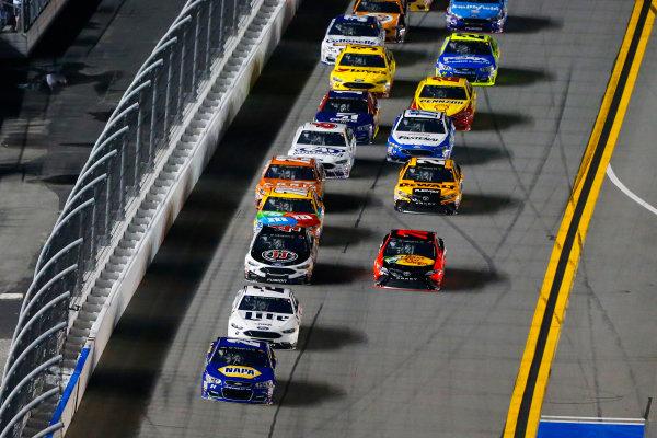 2017 NASCAR Monster Energy Cup - Can-Am Duels Daytona International Speedway, Daytona Beach, FL USA Thursday 23 February 2017 Chase Elliott and Brad Keselowski World Copyright: Russell LaBounty/LAT Images ref: Digital Image 17DAY2rl_01610