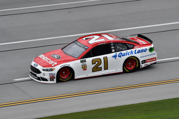 Monster Energy NASCAR Cup Series GEICO 500 Talladega Superspeedway, Talladega, AL USA Friday 5 May 2017 Ryan Blaney, Wood Brothers Racing, Motorcraft/Quick Lane Tire & Auto Center Ford Fusion World Copyright: John K Harrelson LAT Images