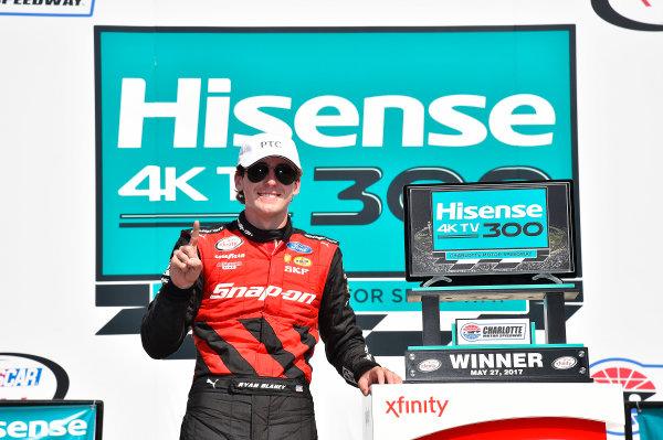 NASCAR Xfinity Series Hisense 4K TV 300 Charlotte Motor Speedway, Concord, NC USA Saturday 27 May 2017 Ryan Blaney, Snap-On Ford Mustang World Copyright: Rusty Jarrett LAT Images ref: Digital Image 17CLT2rj_9610