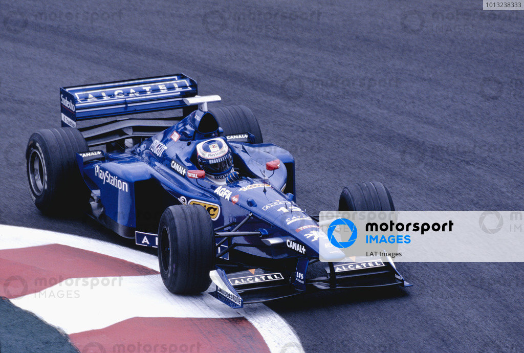Magny-Cours, France. 26-28 June 1998.Jarno Trulli (Prost AP01 Peugeot).Ref-98 FRA 65.World Copyright - Martyn Elford/LAT Photographic