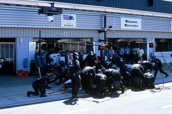 Silverstone, England.9th - 11th July 1999. Rd 8.xxxWorld Copyright: LAT PhotographicRef: 99GB19