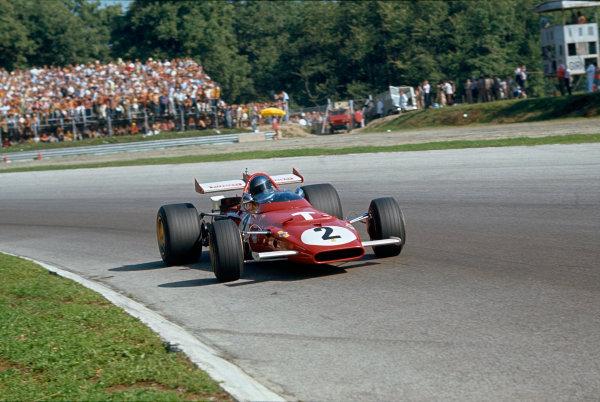 Monza, Italy. 4-6 September 1970.  Jacky Ickx, Ferrari 312B.  Ref: 70ITA10. World Copyright: LAT Photographic