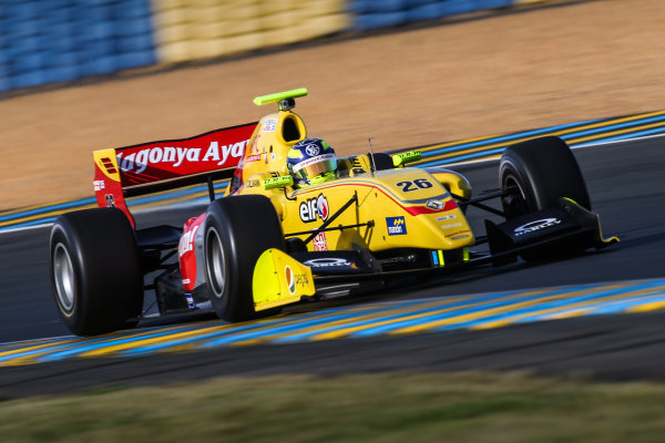 Le Mans (FRA) SEPT 25-27 2015 - World Series by Renault 2015 at the Bugatti circuit of Le Mans. Tom Dillmann #26 Jagonya Ayam with Carlin. Action. © 2015 Diederik van der Laan  / Dutch Photo Agency / LAT Photographic
